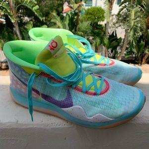 Size 13 Nike KD 12 Peach Jam EYBL